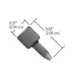 Nexera 1-pc High Pressure Peek Fitting, 10/pk