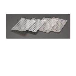 Teflon/Silicone Mat for Round Well MTP, Pre-slit, 72/pk