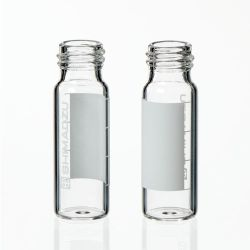 Vials, 4mL Vial Only, Screw Cap Style, 45 x 14.7mm, clear glass, 1st hydrolytic class, 100pk