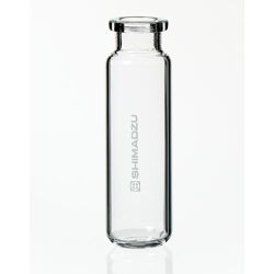 Vials, 20mL Headspace vial only, Crimp Cap Style, 75,5 x 22.5mm, clear glass, Round bottom, 100/pk