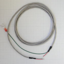 Analog signal cable (shielded).