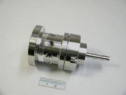 8 PORT CERAMIC VALVE W/SS CASING,TOC4000