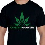 T-Shirt, Cannabis Analyzer for Potency, Size Large