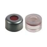 8MM ALUMINUM SEAL W/RED RUBBER/ PTFE SEPTUM