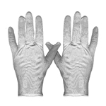 GLOVES, MED NYLON LINT FREE 24 PAIR/ CASE