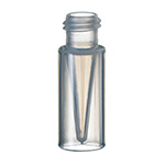 Vials, 300uL Clear Polypropylene Vial Only, 100/pk