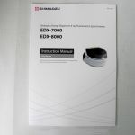 EDX-7000/EDX-8000 Hardware Instruction Manual.