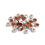 Aluminum Crimp Seals 11mm, PTFE/Rubber Pack of 100