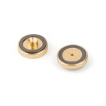 Gold Plated Inlet Seal Dual Vespel Ring, 0.8mmID 2pk