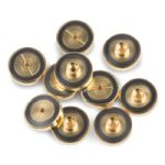 Gold Plated Inlet Seal Dual Vespel Ring 1.2mm ID 10pk