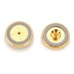 Inlet Seals Dual Vespel Ring, 0.8mm Gold Plated Cross Disk, 2pk