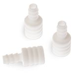 Frit Adapter, 3mm Glass Solvent Filter Connector PTFE, 4-pk